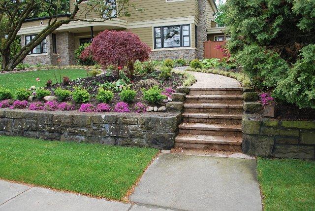 Garden Design, Sod installation, Garden installation ...